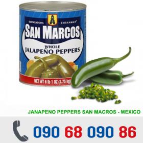 ỚT XANH NGÂM MEXICO 2.75Kg/Lon