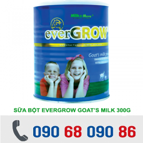 SỮA BỘT EVERGROW GOAT'S MILK 300G