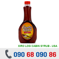 SIRÔ LOG CABIN SYRUB COUNTRY KITCHEN 710ml/Chai - MỸ