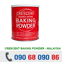 BỘT NỞ BAKING POWDER CRESCENT 2.7KG - MALAYSIA