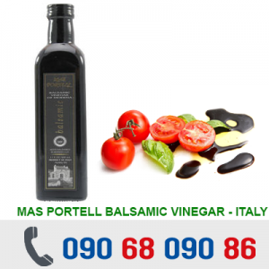 DẤM MAS PORTELL BALSAMIC VINEGAR OF MODENA 500ML - ITALY