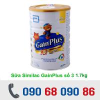 SỮA SIMILAC GAIN PLUS 1.7 KG (1 - 3 TUỔI)