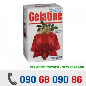 BỘT GELATINE DAVIS 500G - NEW ZEALAND
