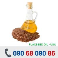 DẦU HẠT LANH - FLAXSEED OIL - MỸ