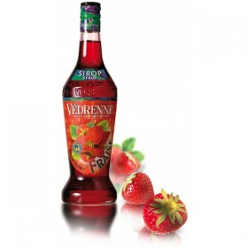 SIRÔ HƯƠNG DÂU Vedrenne Strawberry Syrup 700ML - French