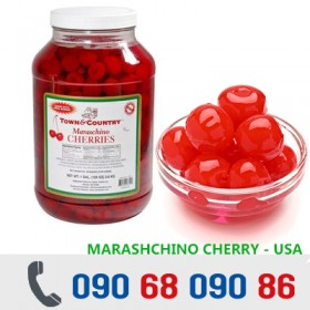 CHERRY MỸ NGÂM 4,25KG/Bình