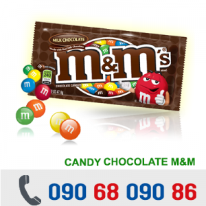 KẸO CHOCOLATE M&M