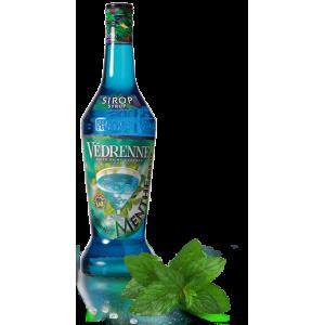 SIRÔ HƯƠNG BẠC HÀ XANH - Védrenne Blue Mint Syrup 700Ml
