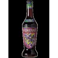 SIRÔ HƯƠNG QUẢ LÝ ĐEN Védrenne Blackcurrant Syrup 700ml - Pháp