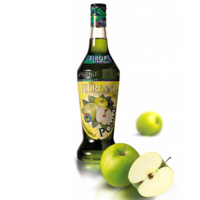 SIRÔ HƯƠNG TÁO XANH Védrenne Green Apple Syrup 700ml - Pháp