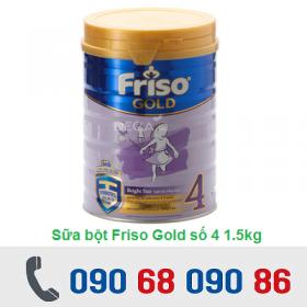 SỮA BỘT FRISO GOLD SỐ 4 1.5KG (4 - 6 TUỔI)