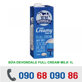 SỮA DEVONDALE FULL CREAM 1L