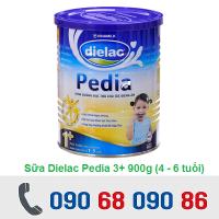 SỮA DIELAC PEDIA 3+ 900G (4 - 6 TUỔI)