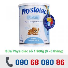 SỮA PHYSIOLAC SỐ 1 400G ( 0-6 THÁNG)