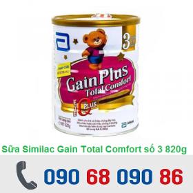 SỮA SIMILAC GAIN TOTAL COMFORT SỐ 3 820G (1 - 3 TUỔI)