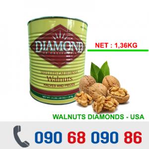 NHÂN QUẢ ÓC CHÓ MỸ - DIAMONDS 1,36Kg